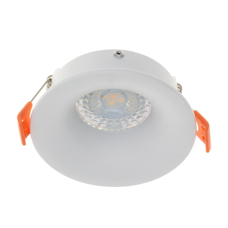 LED Inbouw spot wit - verdiept - rond - GU10 spot - armatuur - 71mm