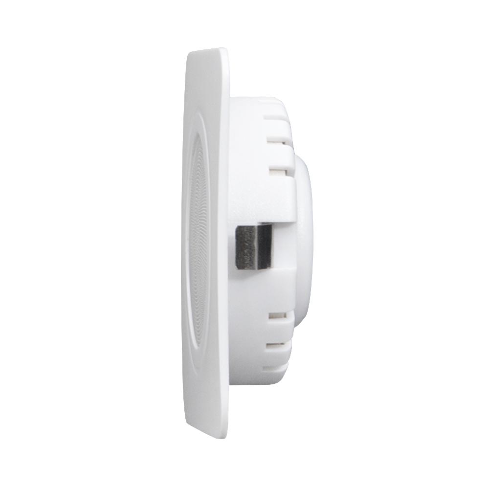 LED kastverlichting inbouwspot zilver wit 3 Watt - zijaanzicht
