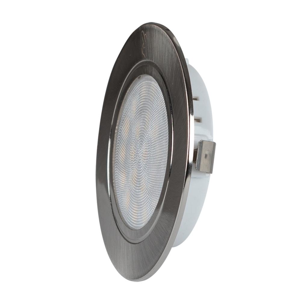 LED Keukenkast led spot inbouw 4 watt - 4200K - Zijaanzicht