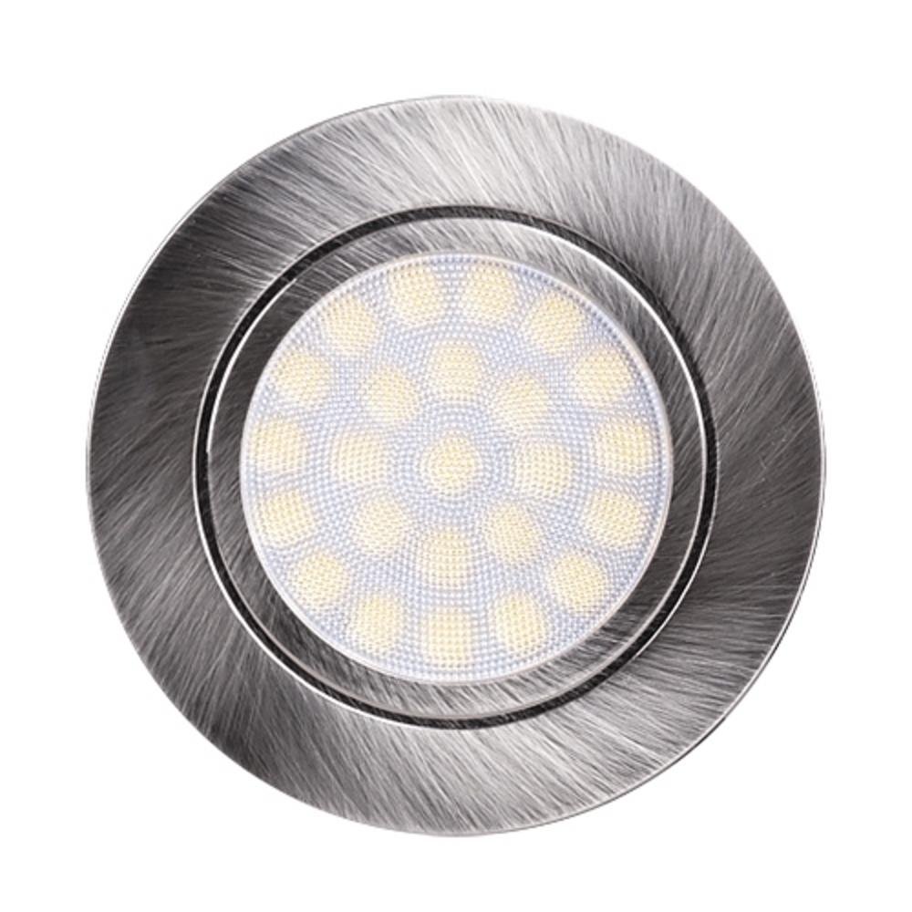 LED Keukenkast led spot inbouw 4 watt - 4200K - Vooraanzicht