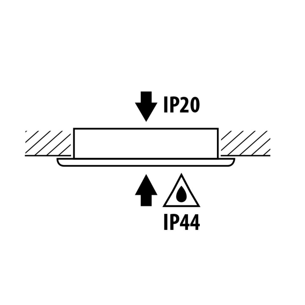 Inbouw spot wit keukenkast - 4W - 220-240V - 4200K - IP waardes