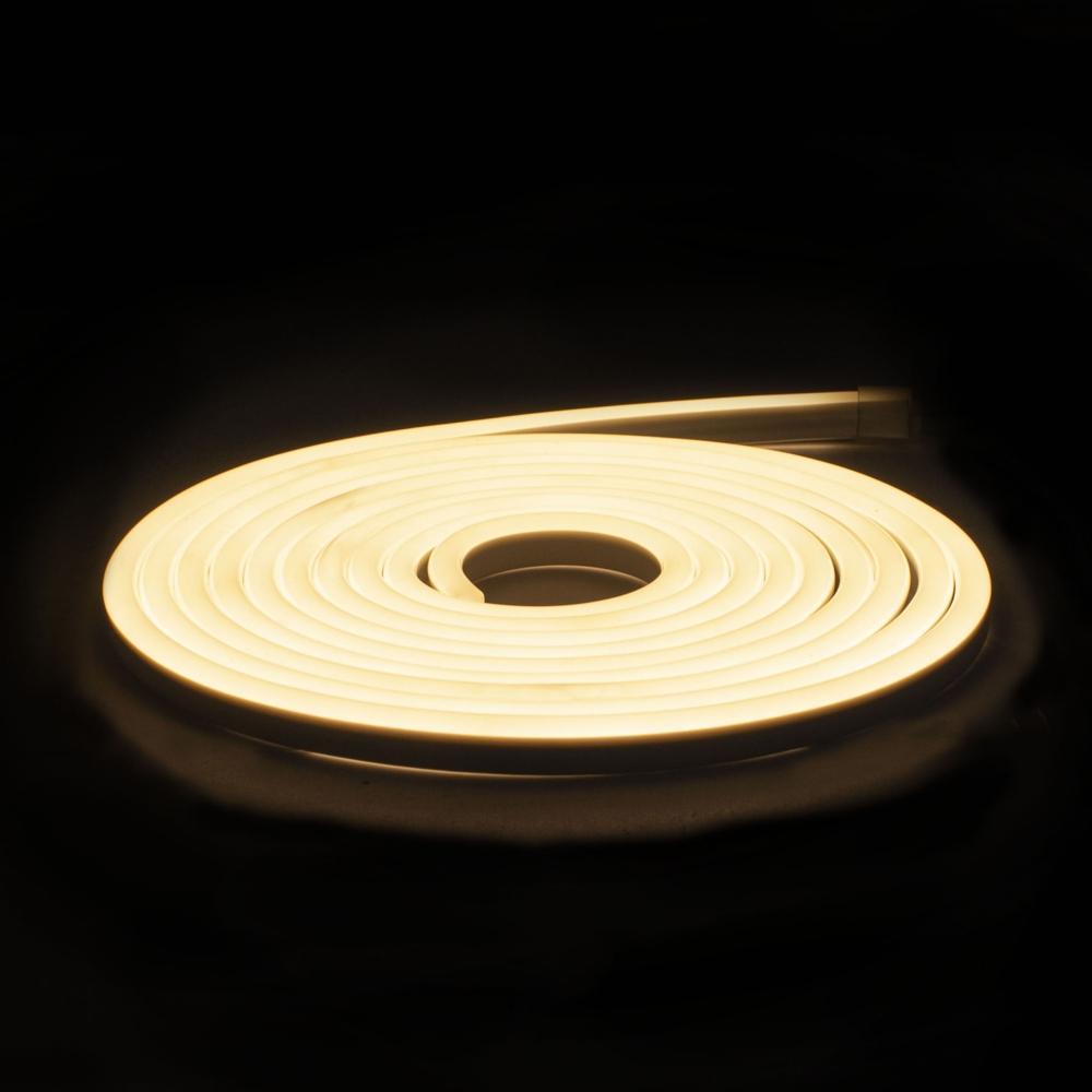 LED Neon strip 5 meter - 4000K naturel wit - dimbaar - IP65 waterdicht