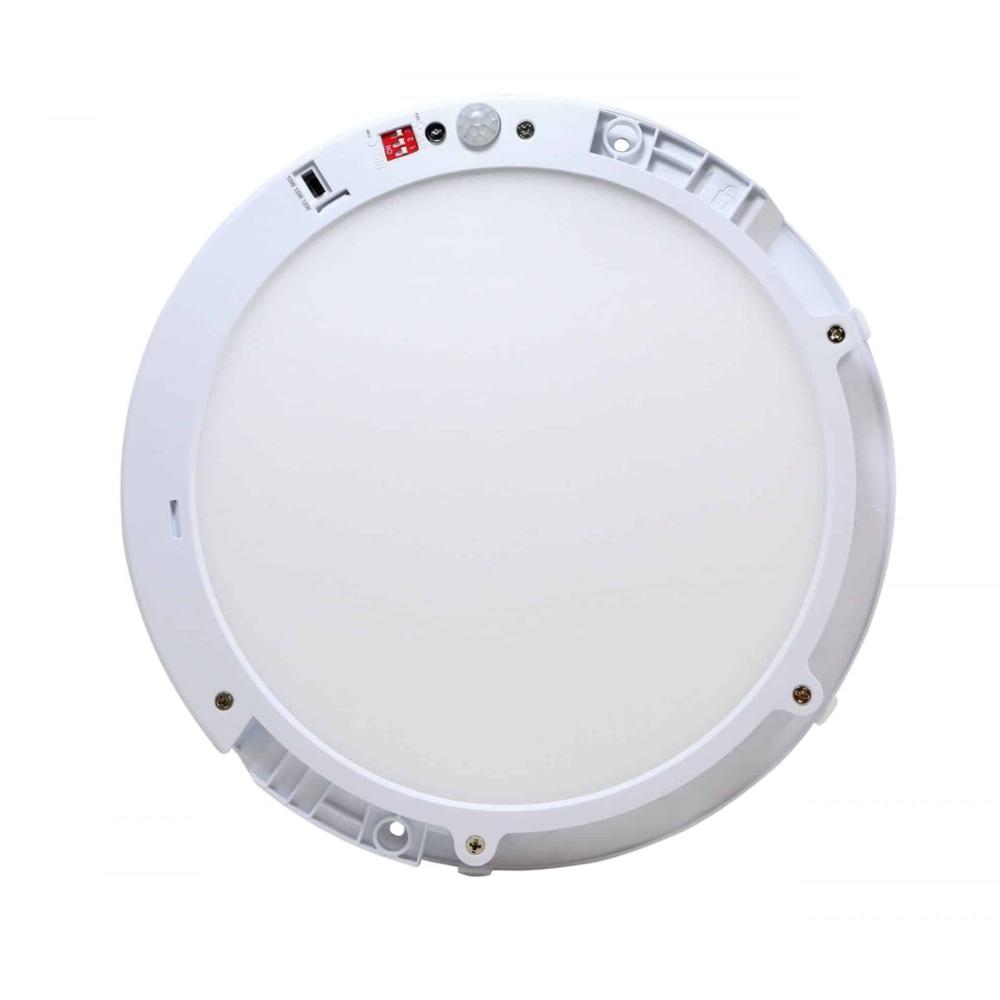 LED Opbouw downlight - plafondlamp met dag en nacht en bewegingssensor - wattage regelbaar - 3000K en 4000K