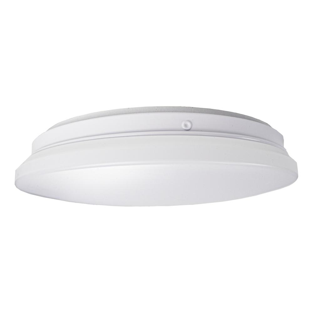 LED Plafondlamp 12 watt - 4000K naturel wit - modern - ERIK - zijaanzicht