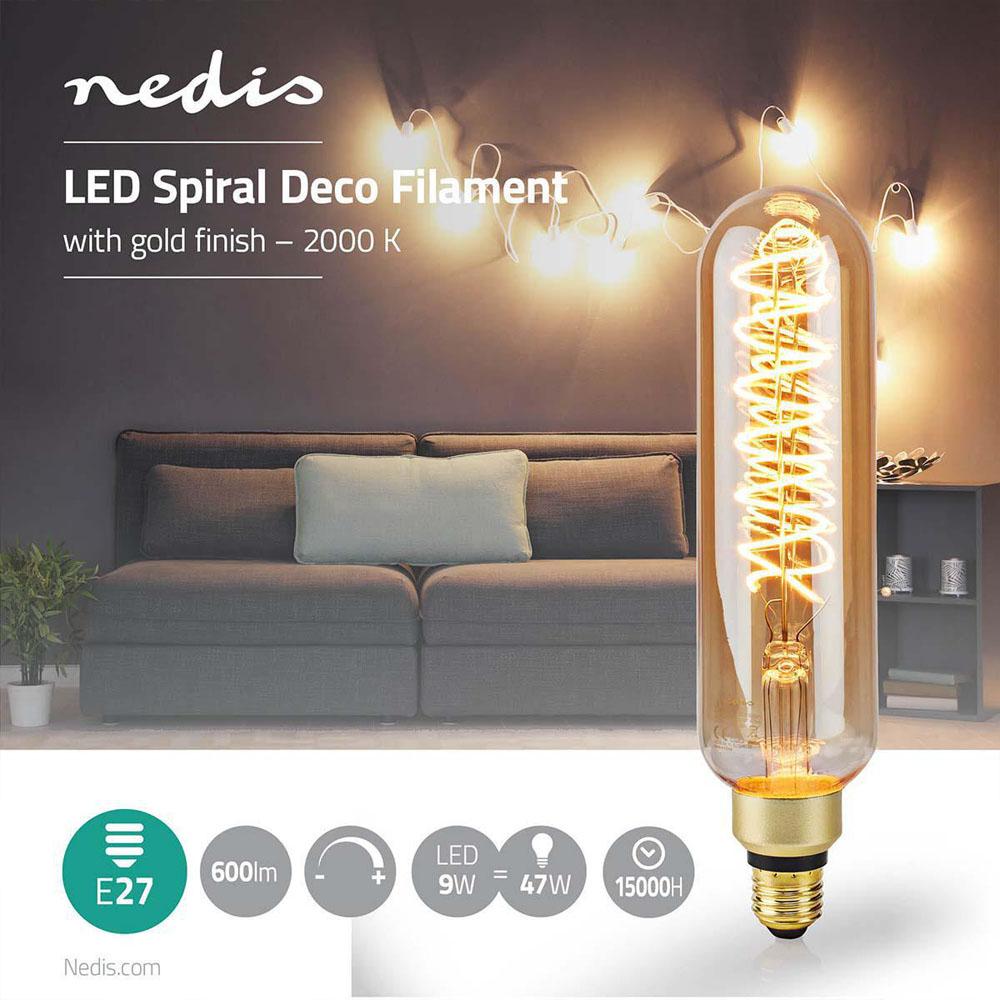 LED filament amber lamp 8,5 Watt 2000K - warm wit - eigenschappen