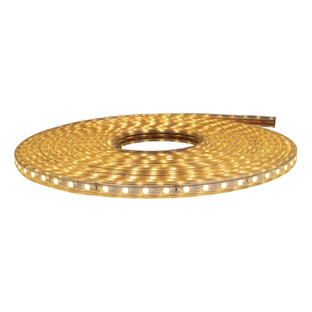 LED Strip 10 meter rol - warm wit 3000K - dimbaar - 220-240V - compleet jpg