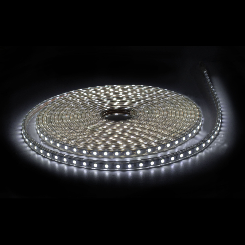 LED Strip 220-240V - 10 meter rol - dimbaar - 60 LED_s per meter - 6500K Daglicht wit