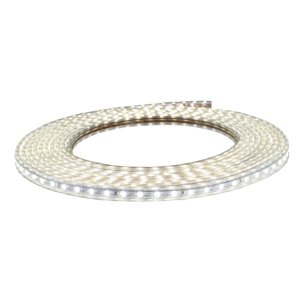 LED Strip 220-240V - 10 meter rol - dimbaar - 60 LED_s per meter - 6500K Daglicht wit - vooraanzicht