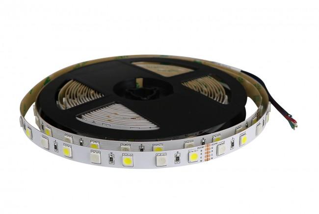 LED Strip 5 meter RGBW + RGB+White - dimbaar - met plakstrip