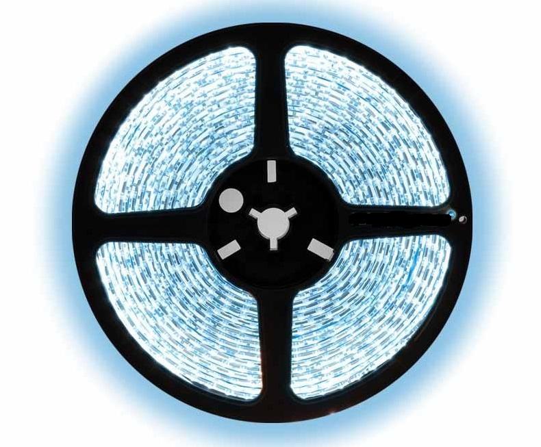 LED Strip 5050 - 60 LED's - 14,4 watt - dimbaar - 12 volt - 6000K daglicht wit