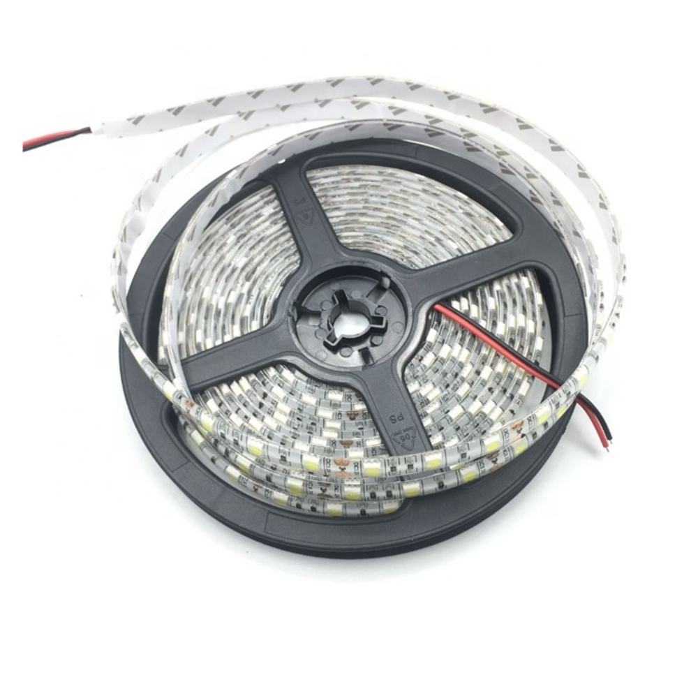 LED Strip rol 5050 - 60 LED's - 12 volt - Warm wit - naturel wit - 5M rol