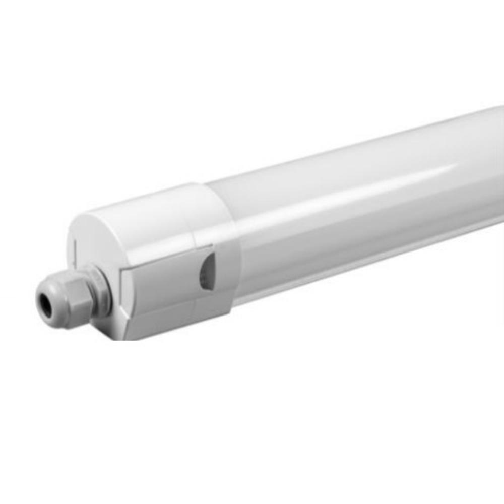 LED batten armatuur kleur instelbaar CCT - 120 centimeter - voorkant