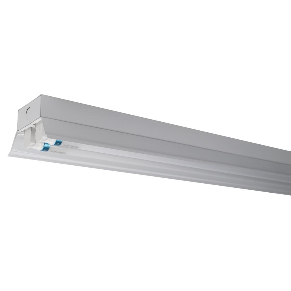 LED TL armatuur - bak - met reflector kap - 120cm - 150cm - trog armatuur T8 - IP22 - incl. LED TL buizen
