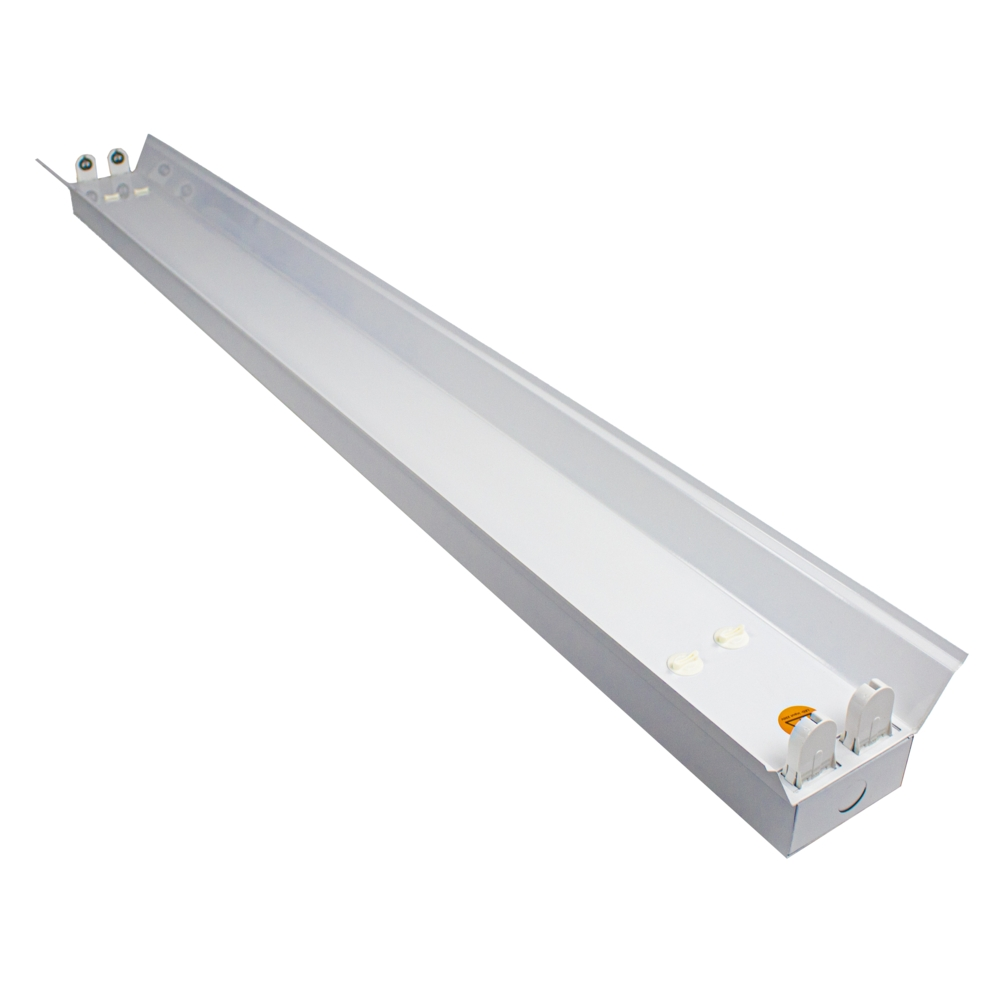 LED TL armatuur - bak - met reflector kap - 120cm - 150cm - trog armatuur T8 - IP22 - voor 2x led tl buizen
