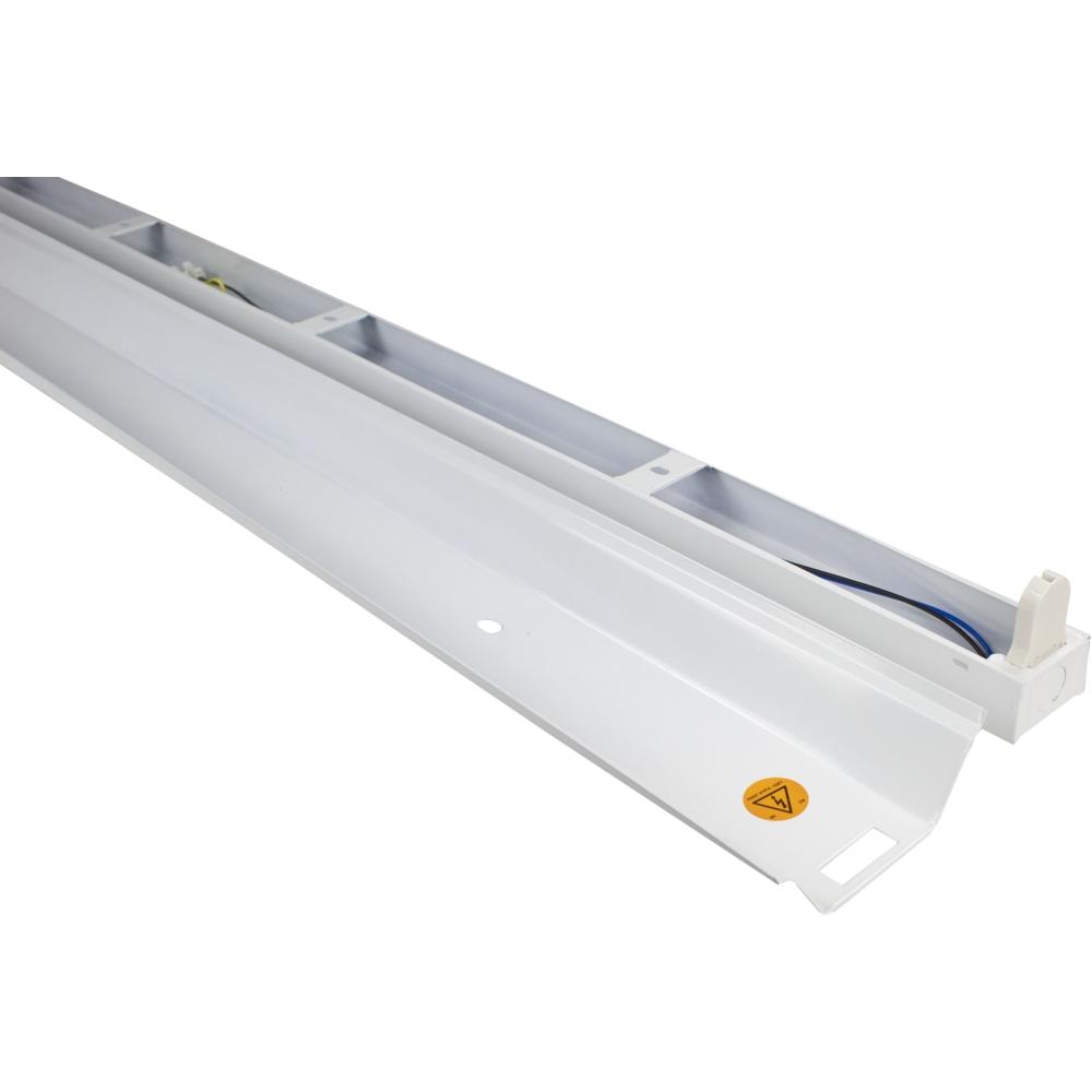 LED TL armatuur - enkel - met reflector - TROG armatuur - 120cm en 150cm - T8 - binnenkant