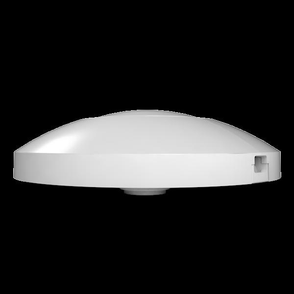 LED Vloer dimmer - 220-240V - 0-50W - Rond - WIT - zijaanzicht