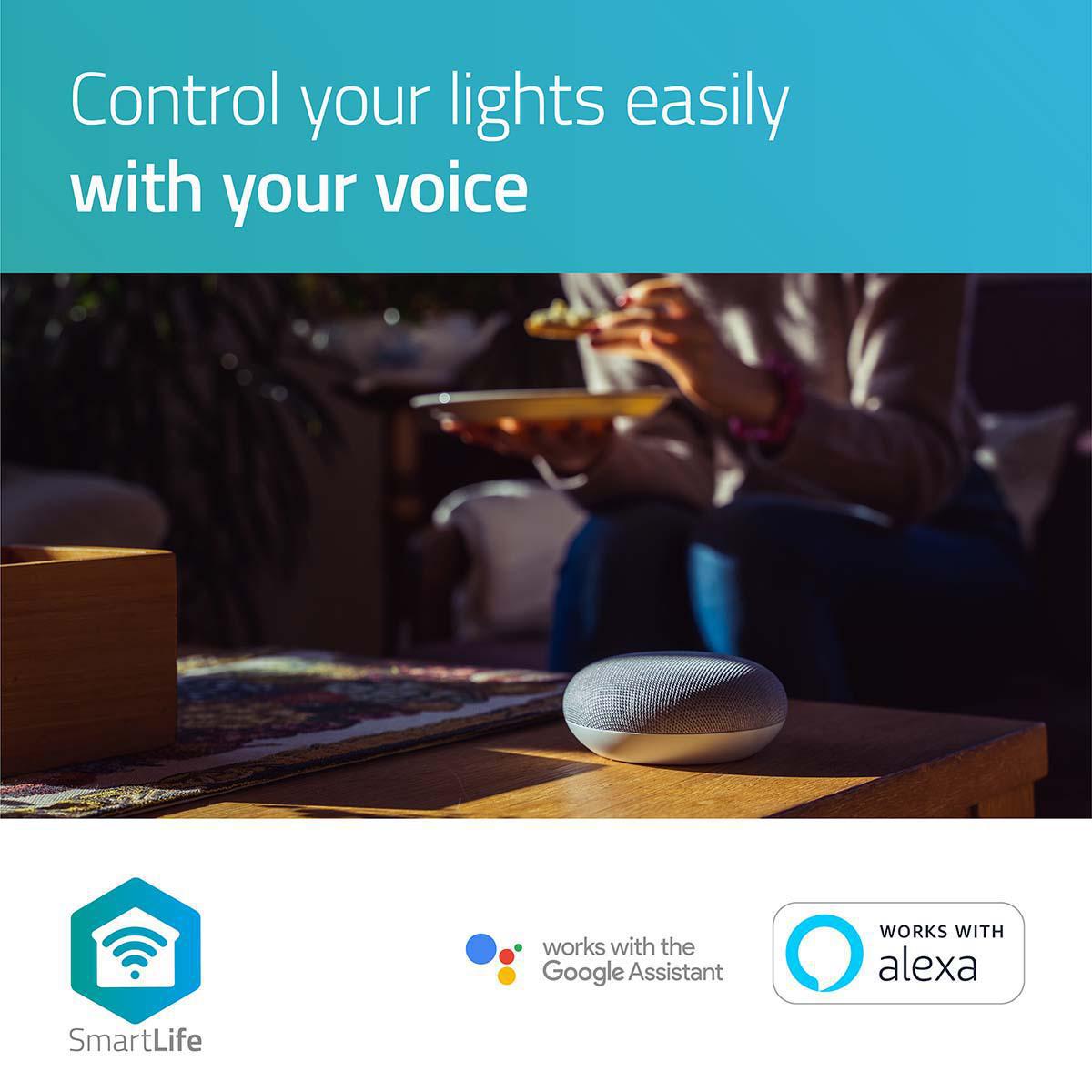 LED WiFi Smart Gu10 spot - 2700K - 6500K - Dimbaar - Warm naar koud wit - App bediening 3