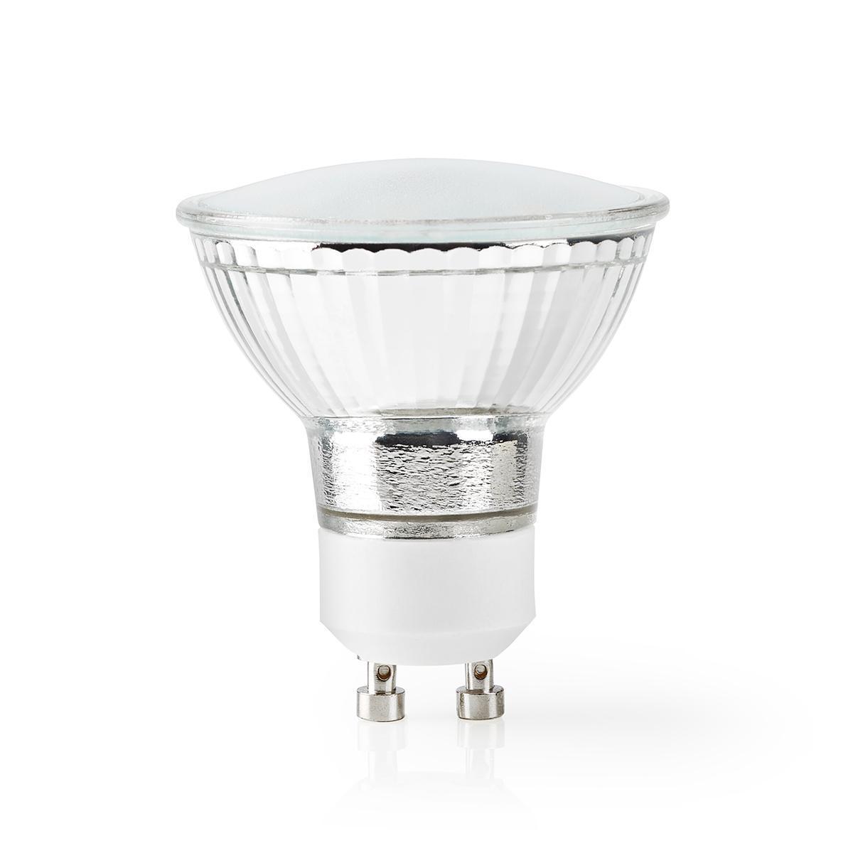 LED WiFi Smart Gu10 spot - 2700K - 6500K - Dimbaar - Warm naar koud wit - Glas