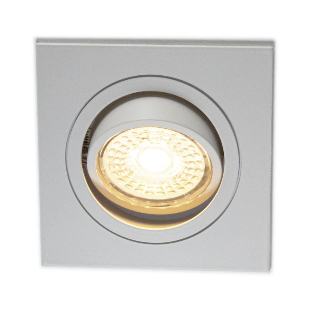 LED Inbouw spot wit - vierkant - dimbaar - 2700K warm wit