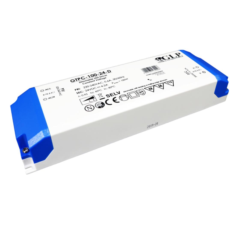 Dimbare LED trafo - 100 watt - 12 volt