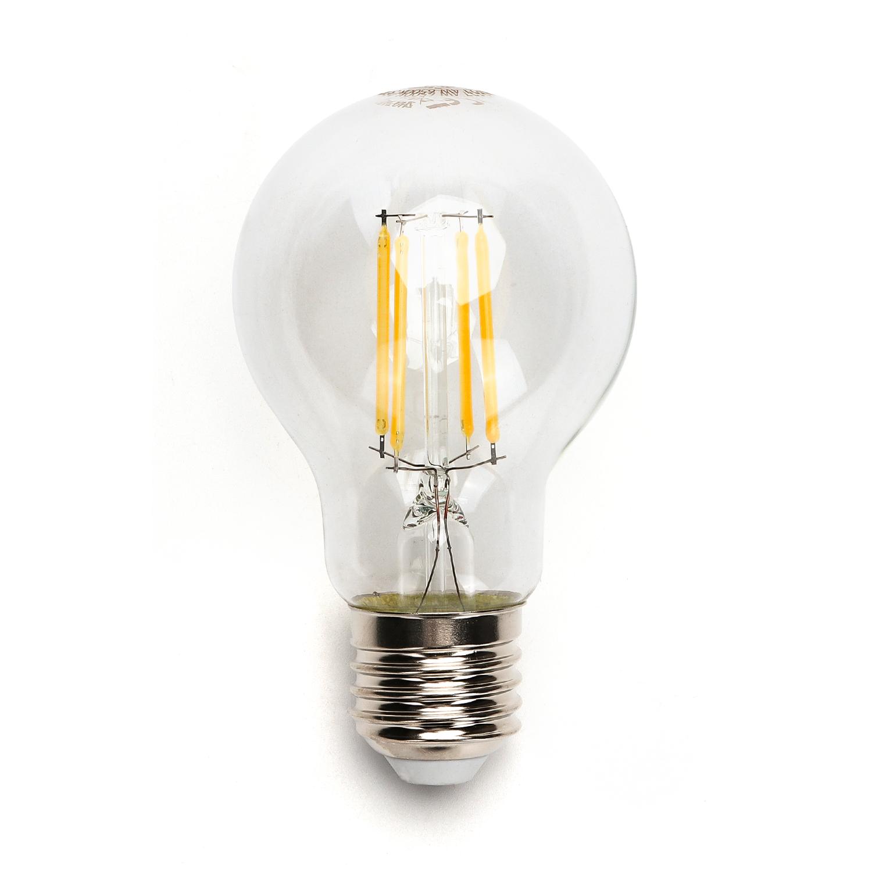 LED Filament Peer lamp 6 Watt grote fitting E27 A60 2700K Warm wit - lamp