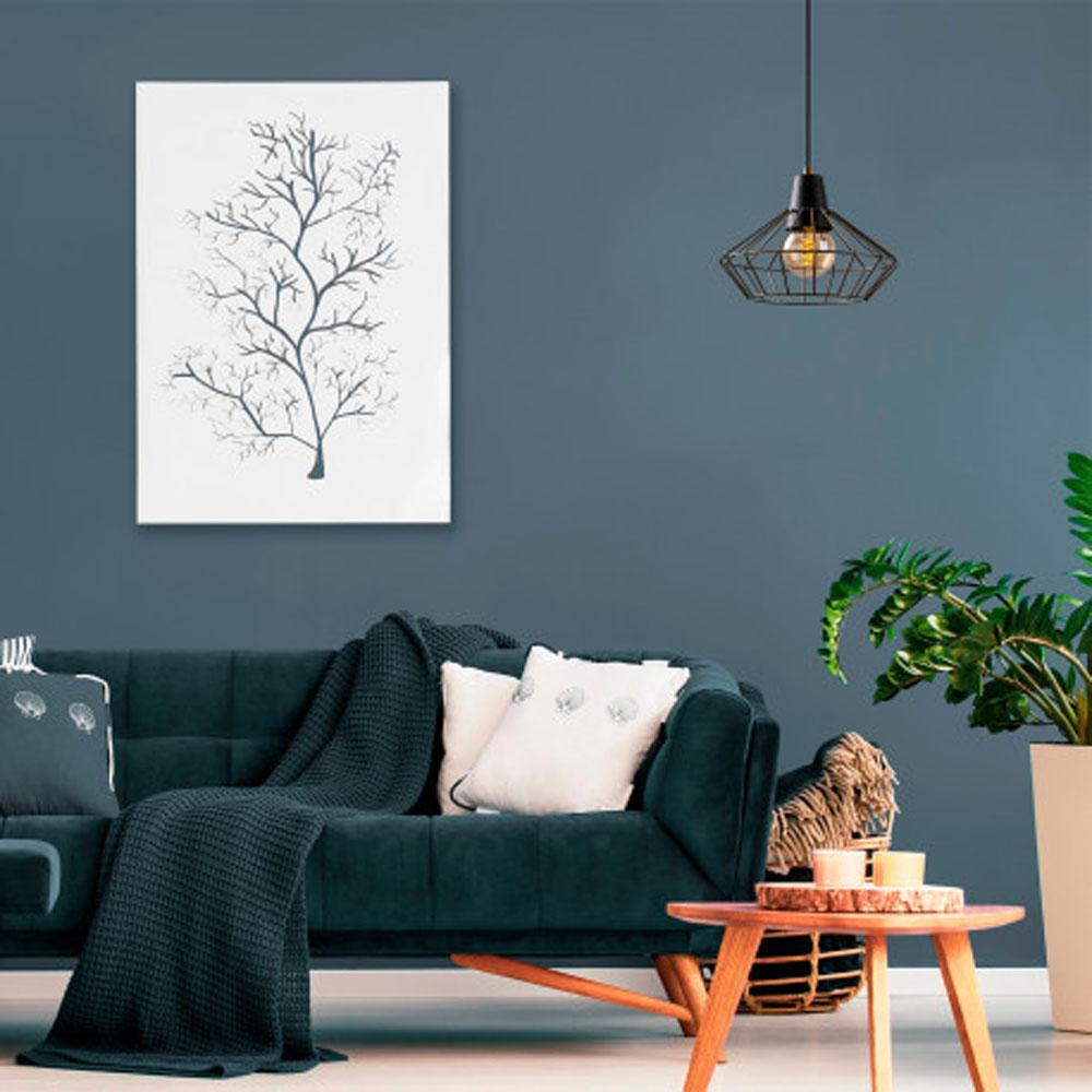 Hanglamp zwart metaal met E27 fitting - inrichting