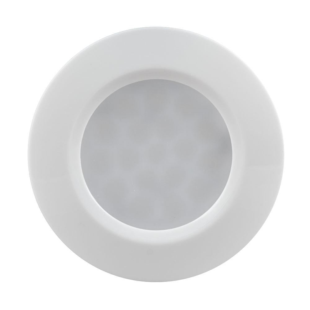 LED opbouw en inbouw downlight 1,5 Watt 4000K - vooraanzicht spot