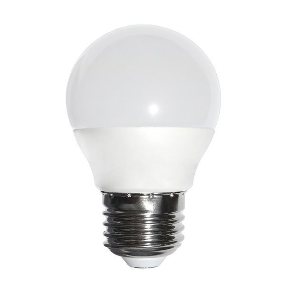 LED E27 lamp 6 Watt melkglas 2700K - Warm wit