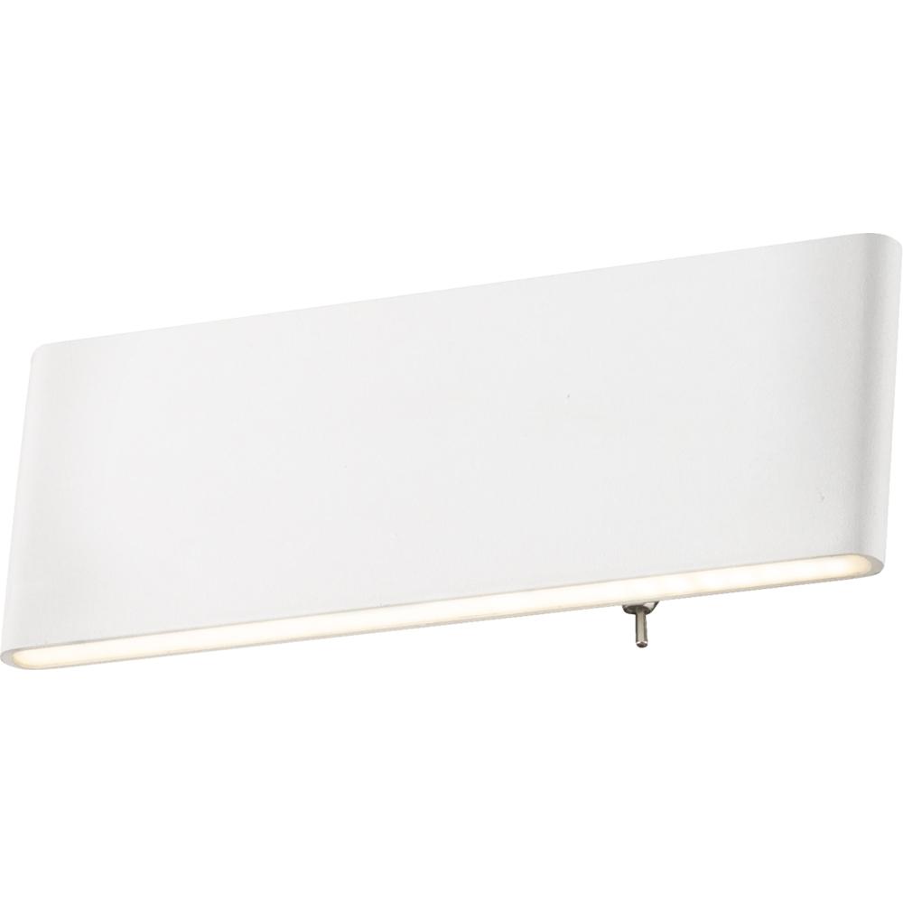 LED wandlamp modern 8 Watt - vooraanzicht lamp