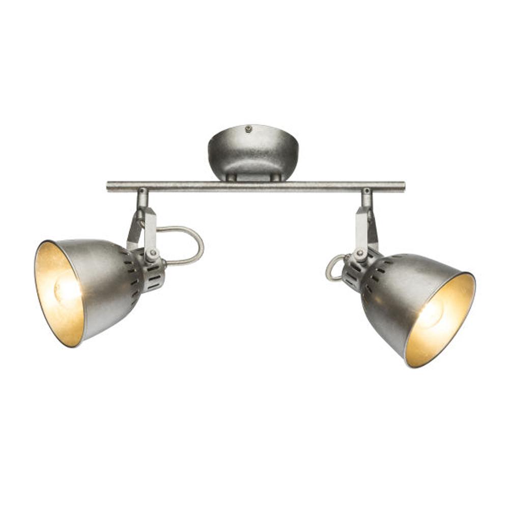LED moderne plafond E14 fitting - vooraanzicht