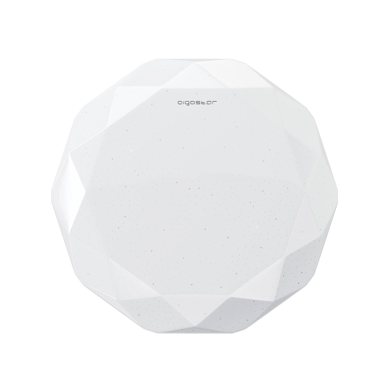 LED Plafondlamp rond diamond - 12 watt - 20 watt - voorkant