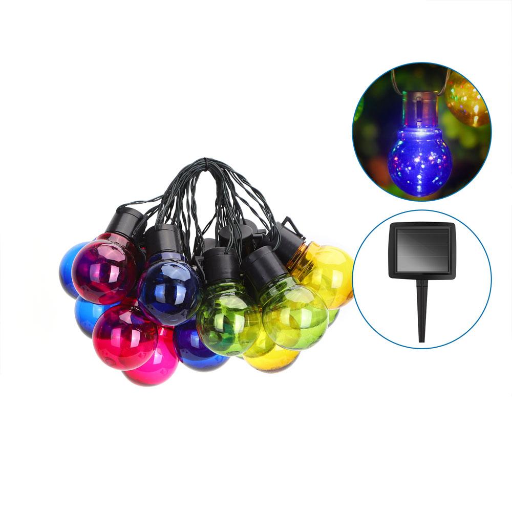 LED prikkabel solar gekleurde lampen 5,8 meter - producten