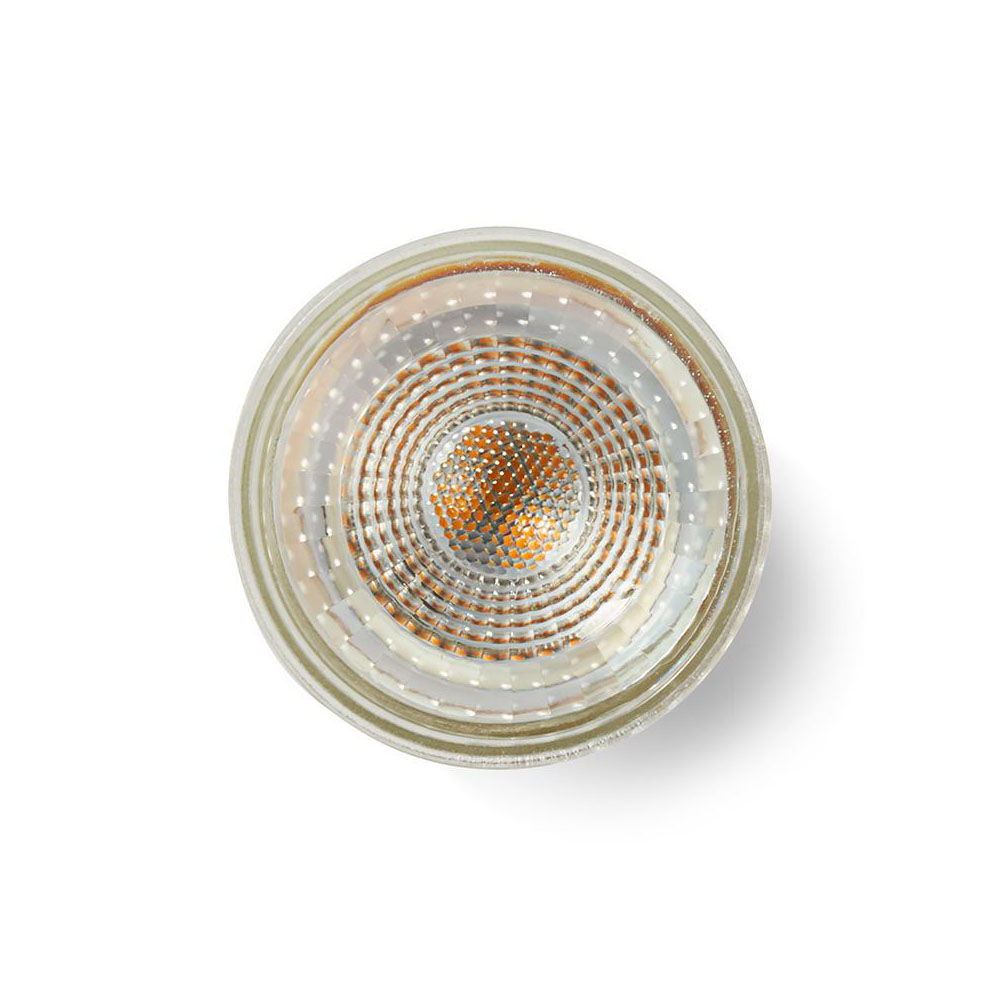 LED spot gu10 dimbaar 5 Watt 2700K - warm wit - bovenaanzicht