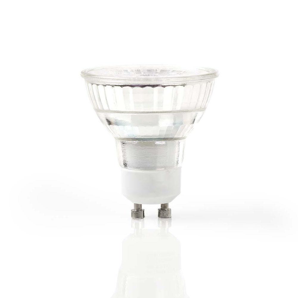 LED spot gu10 dimbaar 5 Watt 2700K - warm wit - led spot vooraanzicht