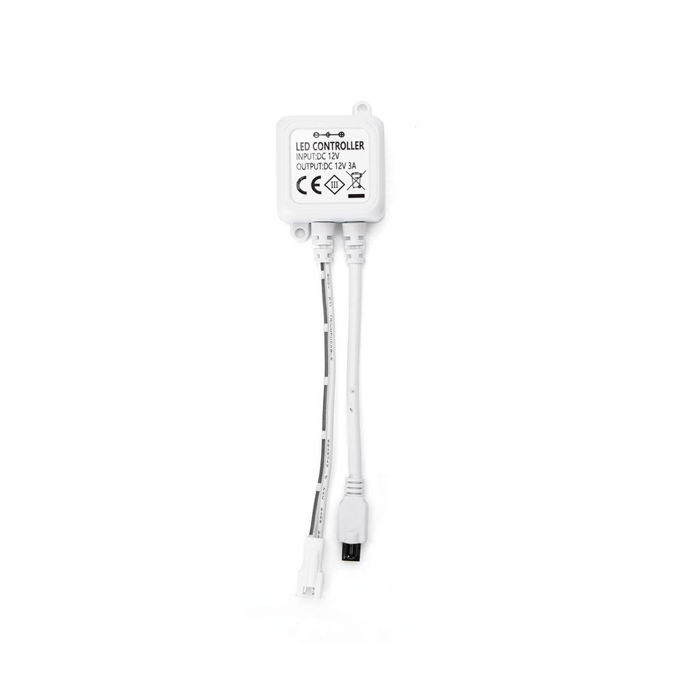 LED strip inclusief afstandsbediening 3000K - warm wit dimbaar - ontvanger