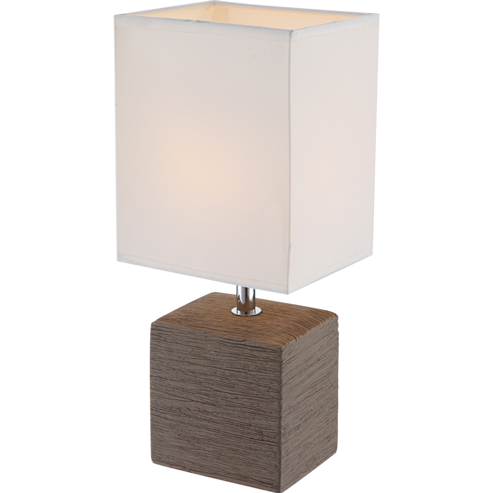 LED moderne tafellamp E14 fitting - zijaanzicht lamp