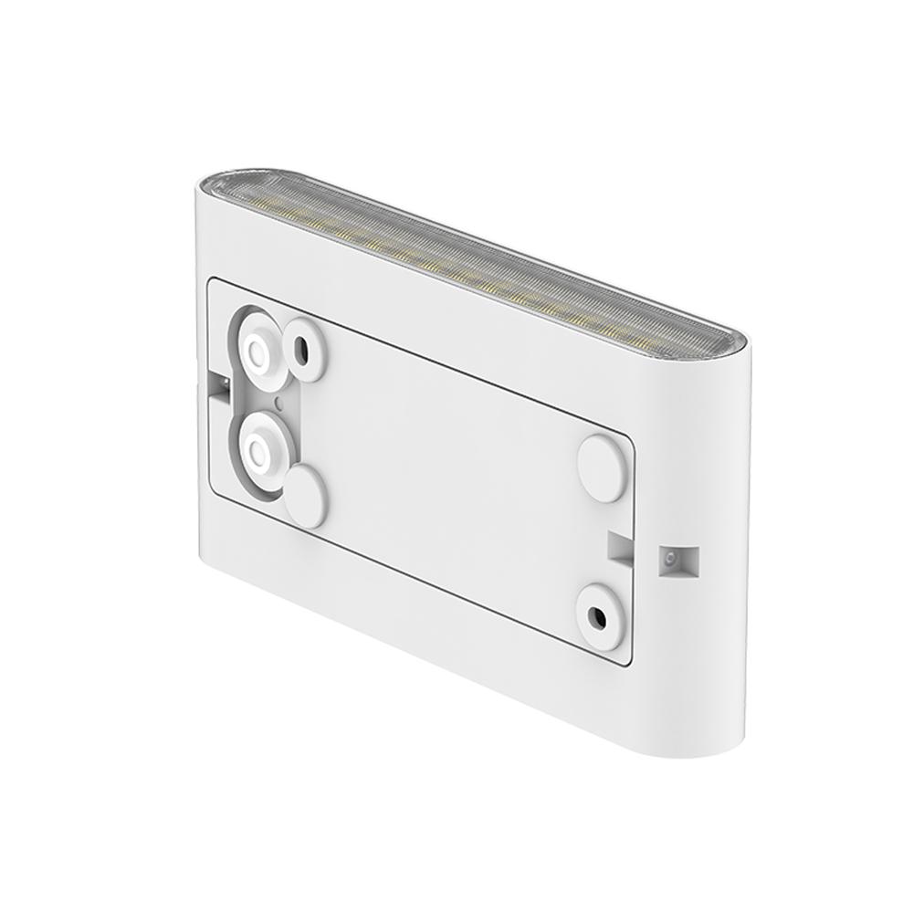 Led Wandlamp wit buiten IP65 CCT - achterkant wandlamp