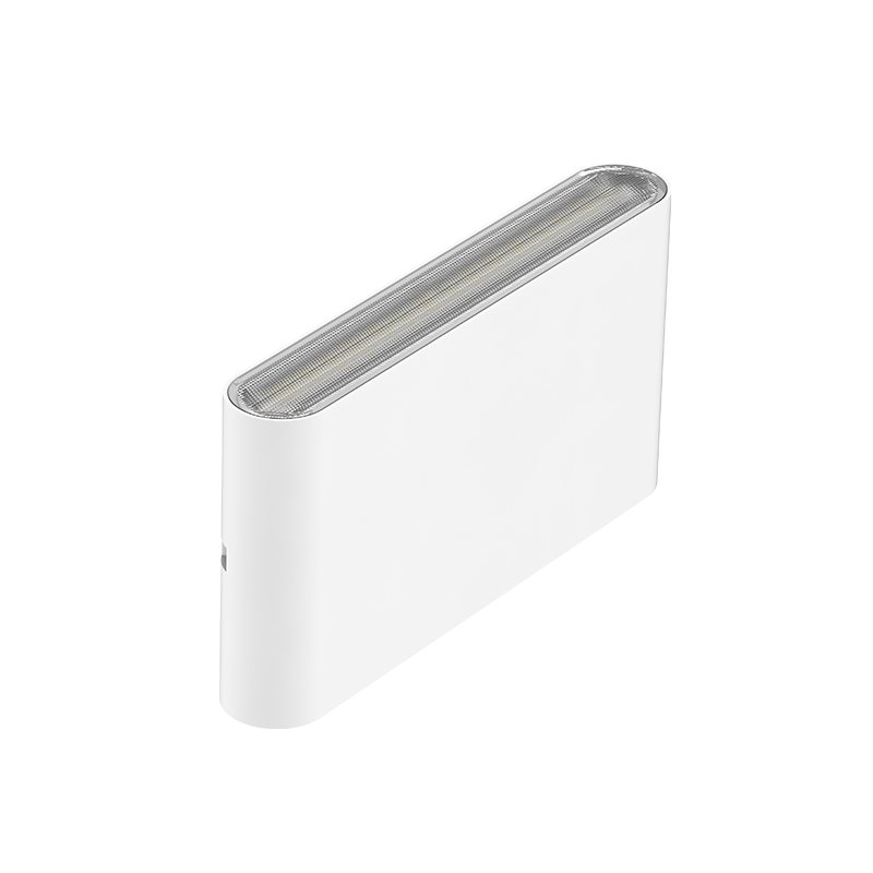 Led Wandlamp wit buiten IP65 CCT - zijkant