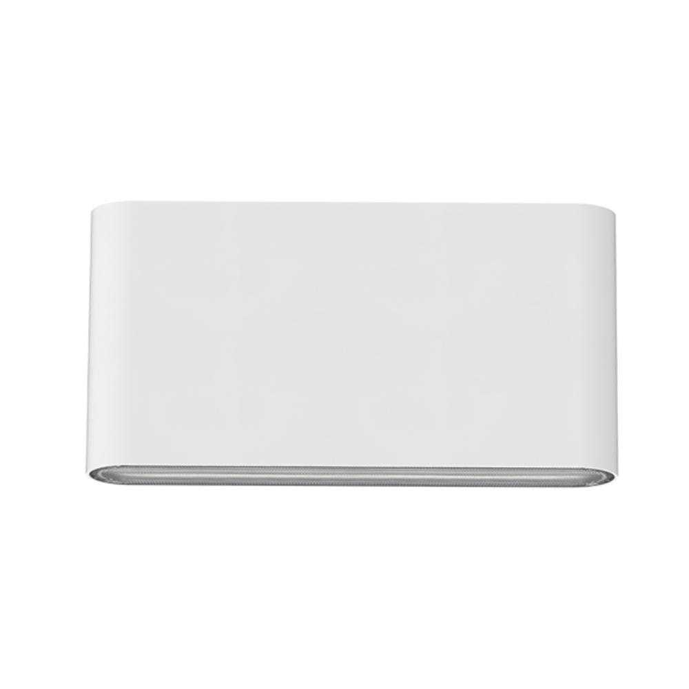 Led Wandlamp wit buiten IP65 CCT - vooraanzicht wandlamp