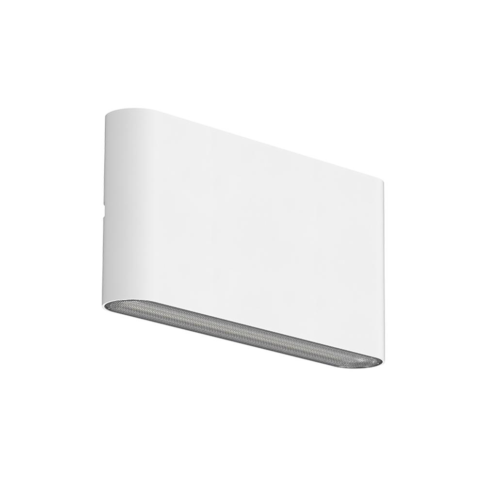Led Wandlamp wit buiten IP65 CCT - schuinaanzicht wandlamp