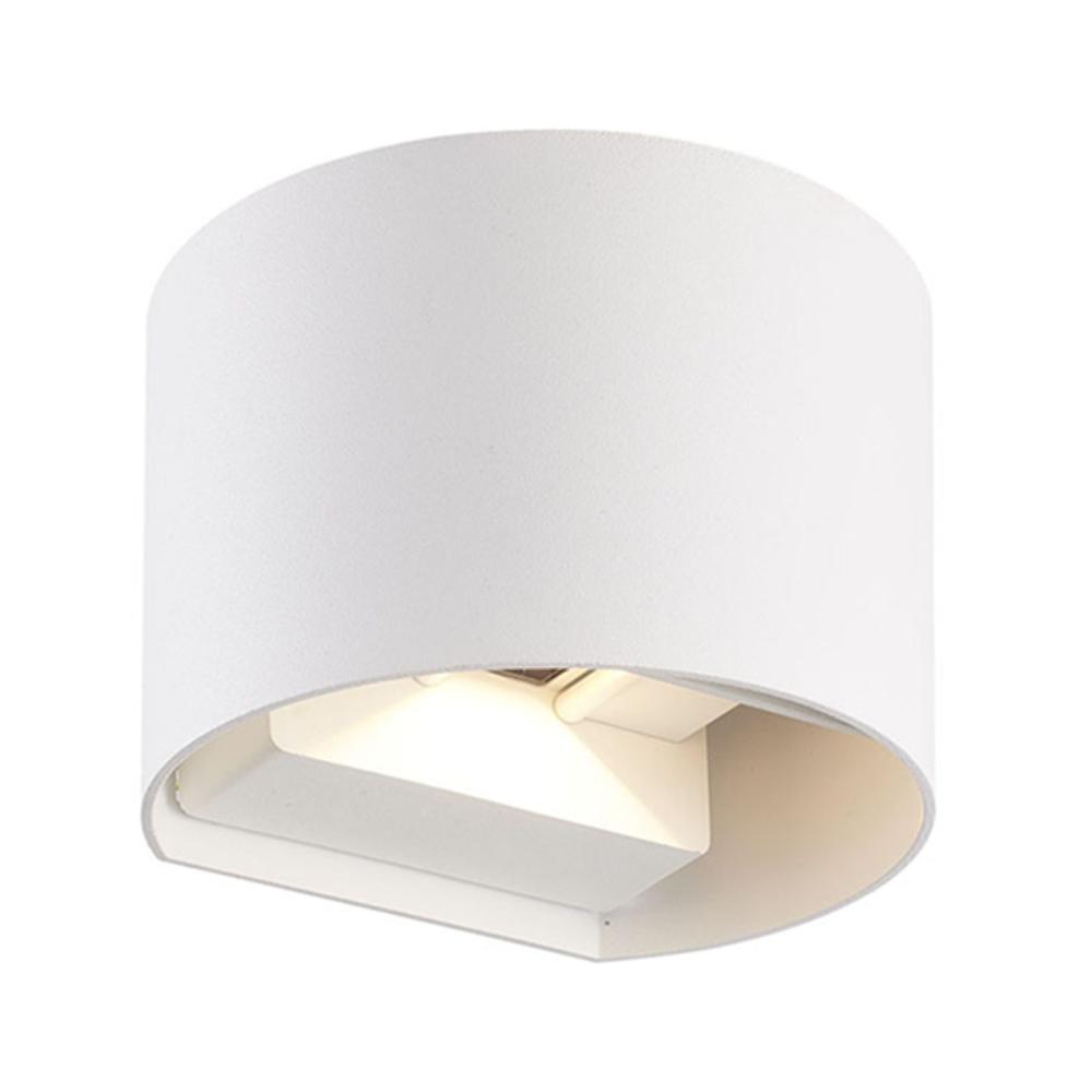 LED wandlamp IP65 wit rond 3000K Warm wit - onderaanzicht