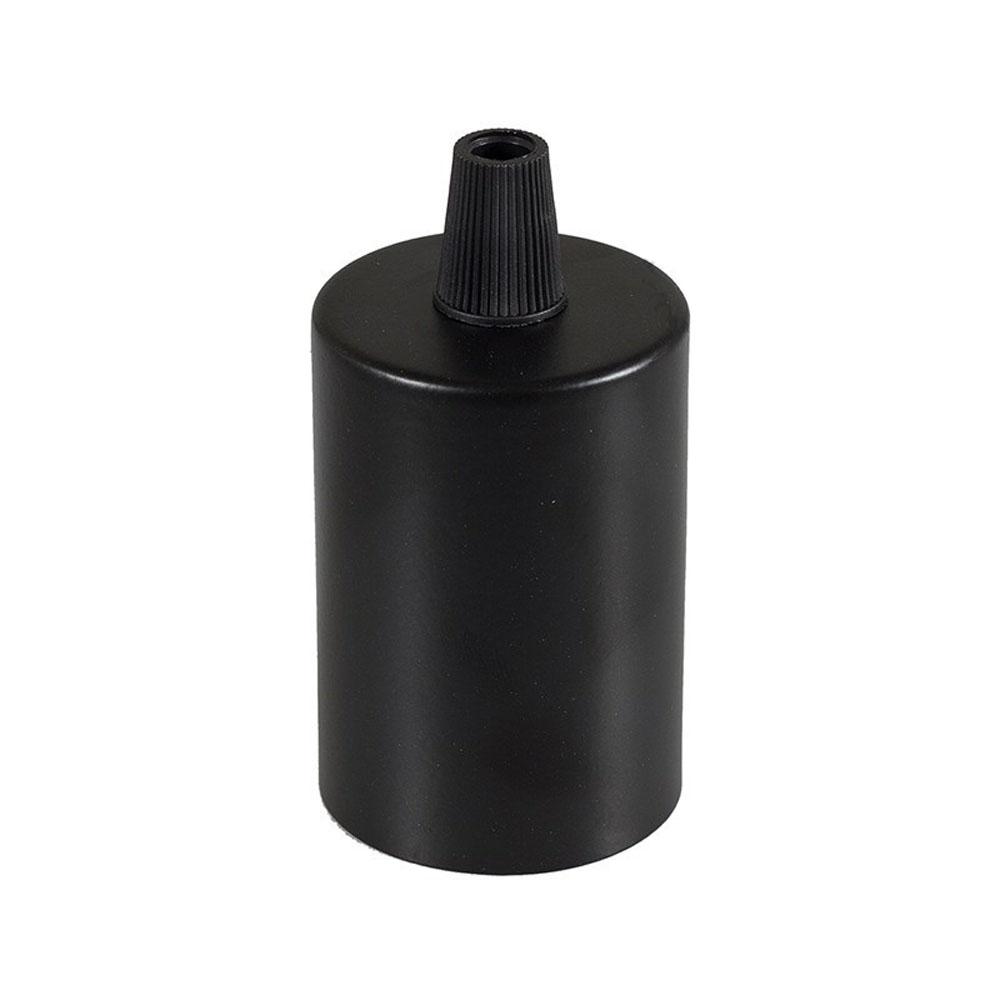 Lamphouder zwart E27 fitting - houder