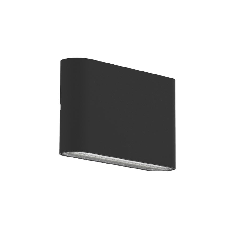 Wandlamp LED CCT kleurwissel 10 Watt voor buiten - zijaanzicht wandlamp