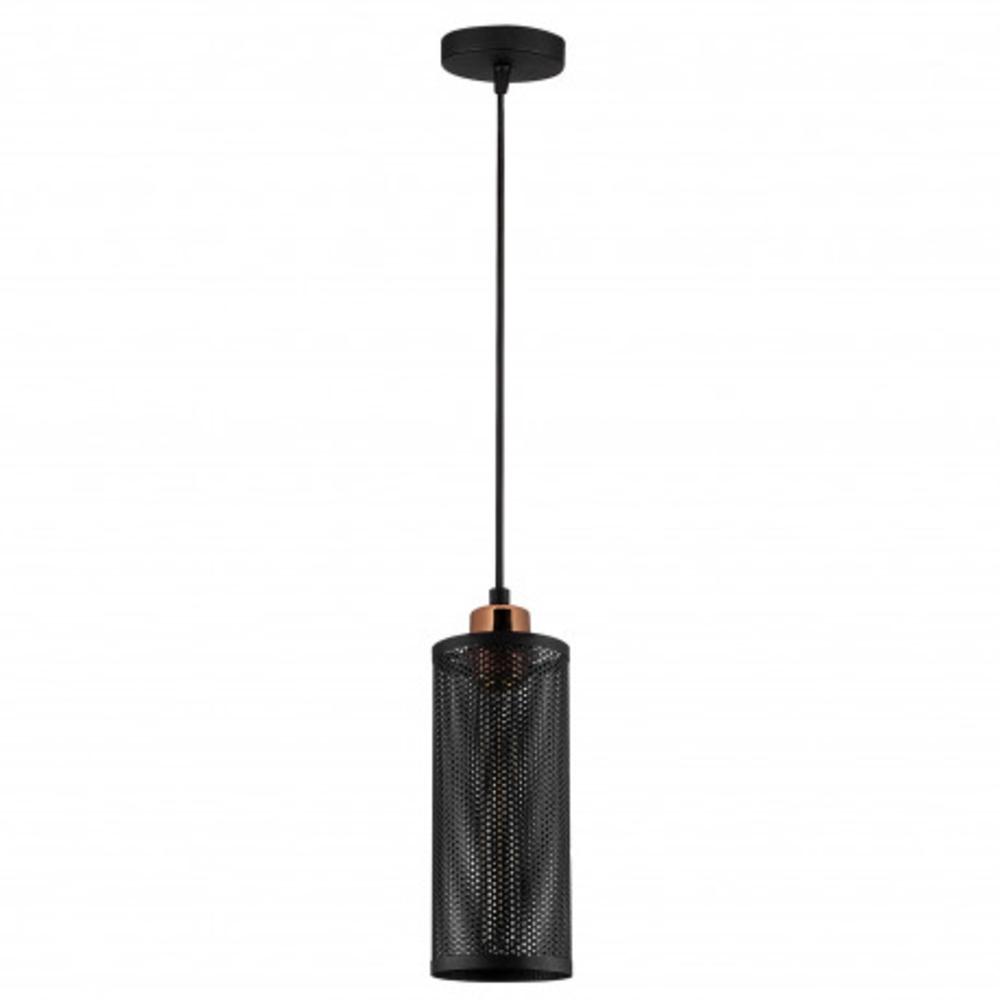 Hanglamp modern zwart - vooraanzicht lamp uit