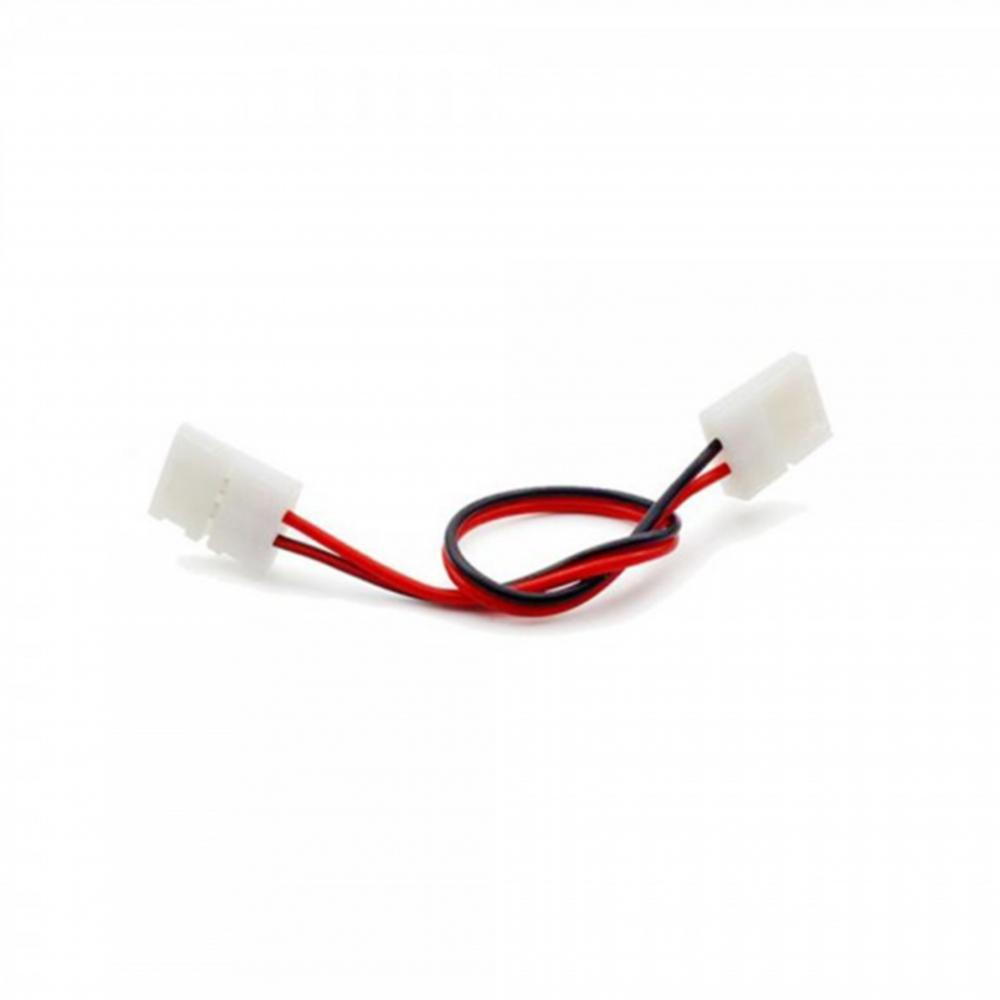 8 mm double connector - led strip toebehoren kabel