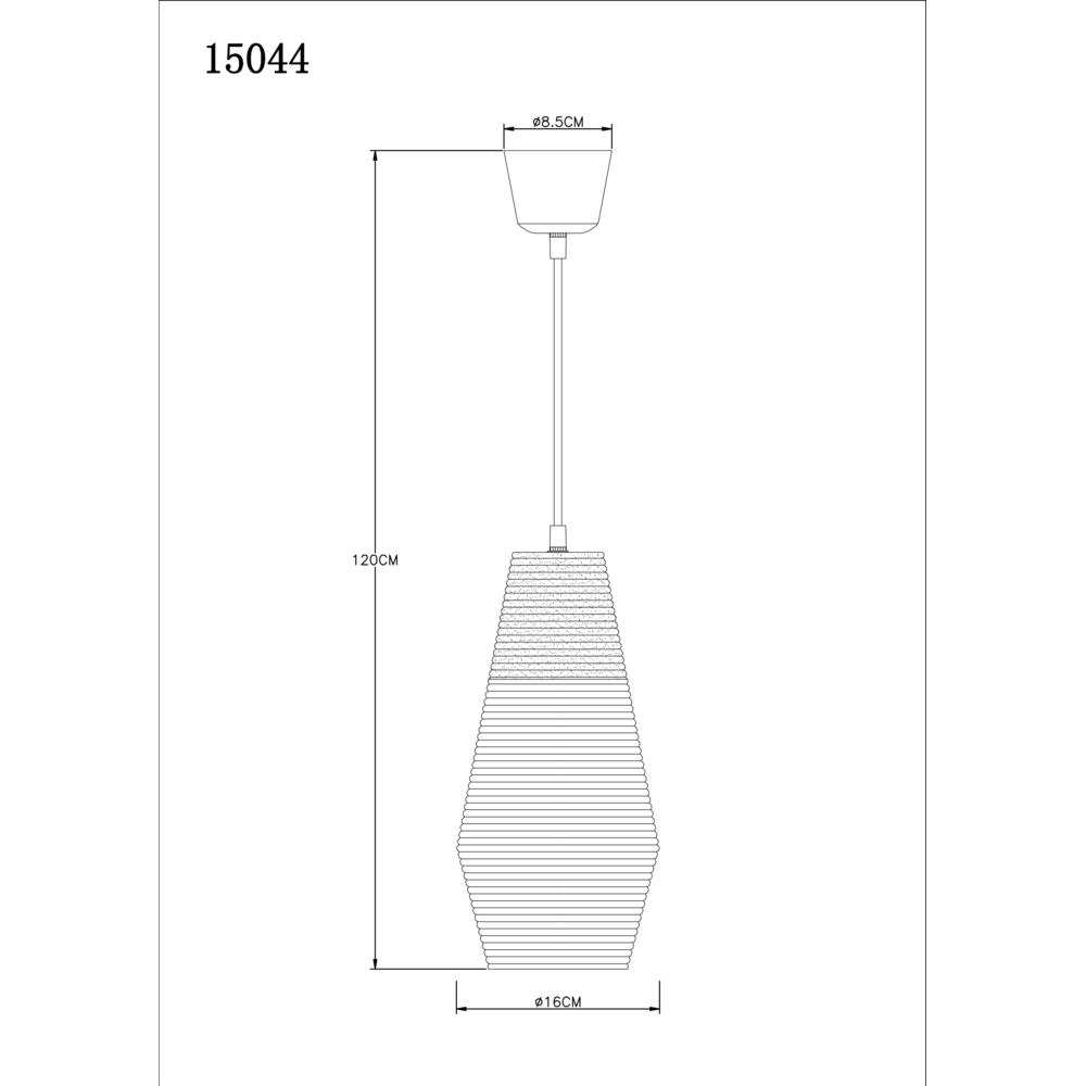 Majuro hanglamp afmetingen