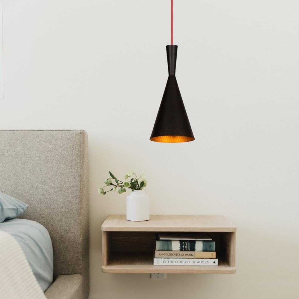 Moderne hanglamp - E27 fitting - Zwart metaal- Novo - sfeerfoto