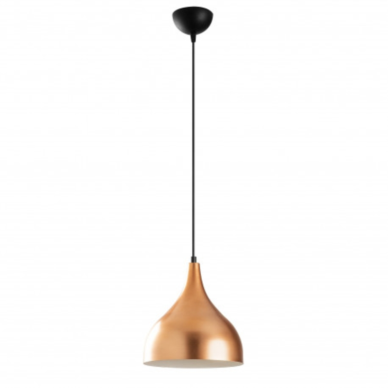 gouden hanglamp 26cm met E27 fitting