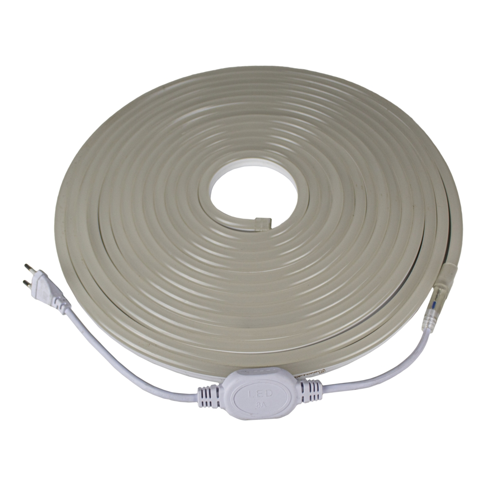 Neon LED Strip - 10 meter - dimbaar - waterdicht IP65 - NEON rol