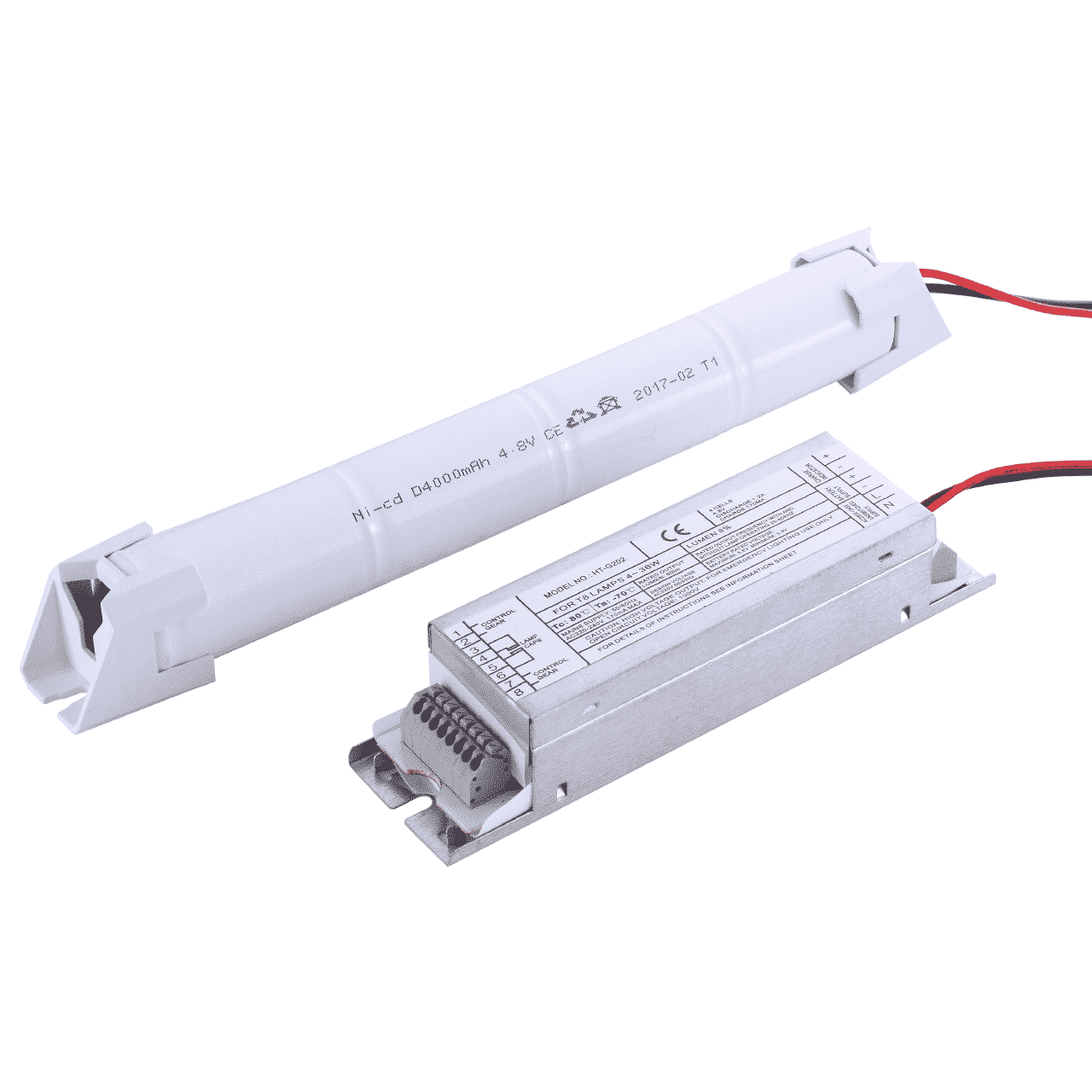 Noodaccu voor LED TL verlichting T8 en T5 buizen